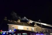 Veel rookontwikkeling bij schoorsteenbrand Schoolstraat Bergambacht