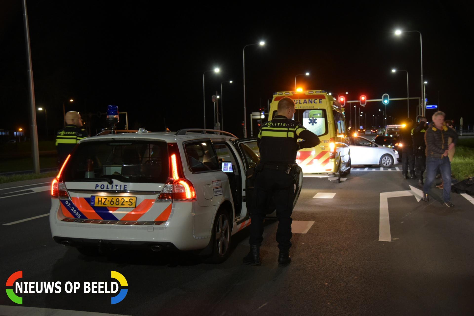 Motorrijder gewond bij eenzijdig ongeval Groene Kruisweg Heenvliet