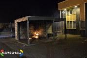 Brand in jeugdhonk Ambachtweg Moordrecht