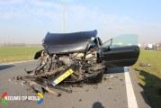 Twee taxibusje betrokken bij kop-staart aanrijding N11 Zoeterwoude