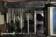 Clubgebouw van tennisvereniging verwoest door brand Stadhouderslaan Schiedam