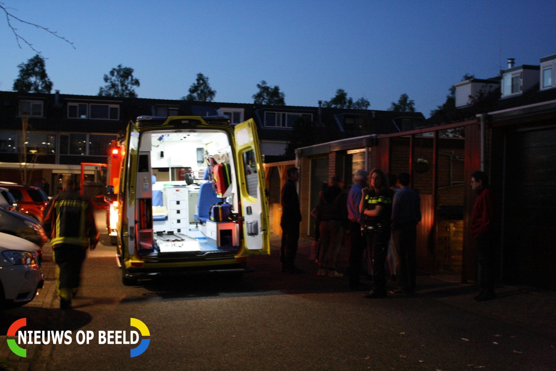 Bewoner ernstig gewond na steekvlam uit buitenhaard Rietkraag Boskoop