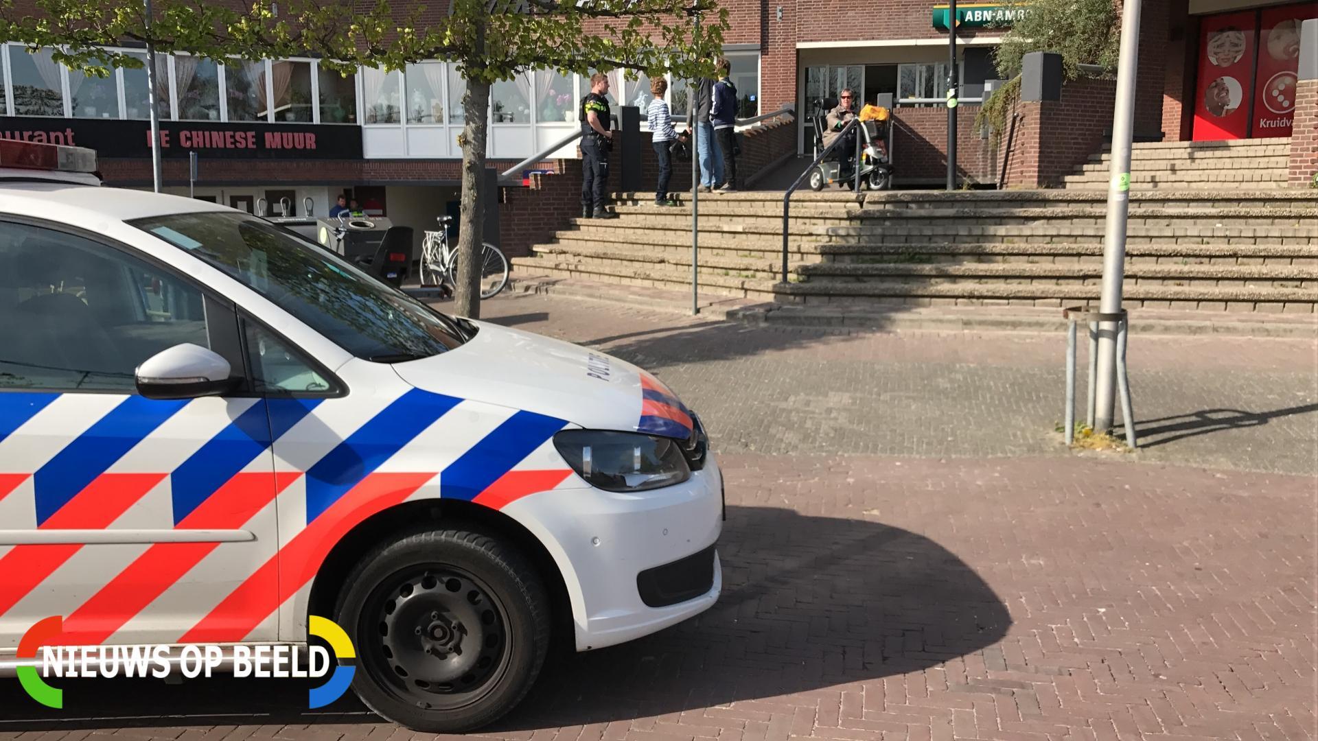 Veel politie op de been na Allahu Akbar geschreeuw Winkelhof Leiderdorp