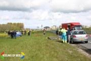 Flinke schade na ongeval N11 Alphen aan den Rijn