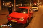 Auto rijdt door na aanrijding met scooter Hoefkade Den Haag