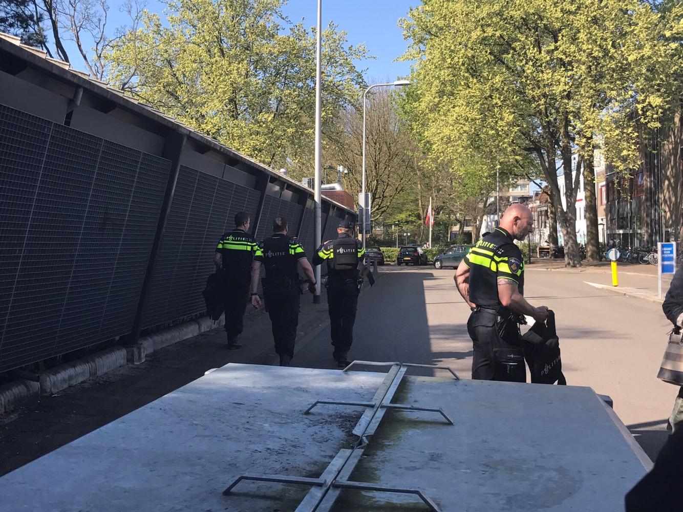Politie Gouda zoekt naar verdacht persoon met vuurwapen