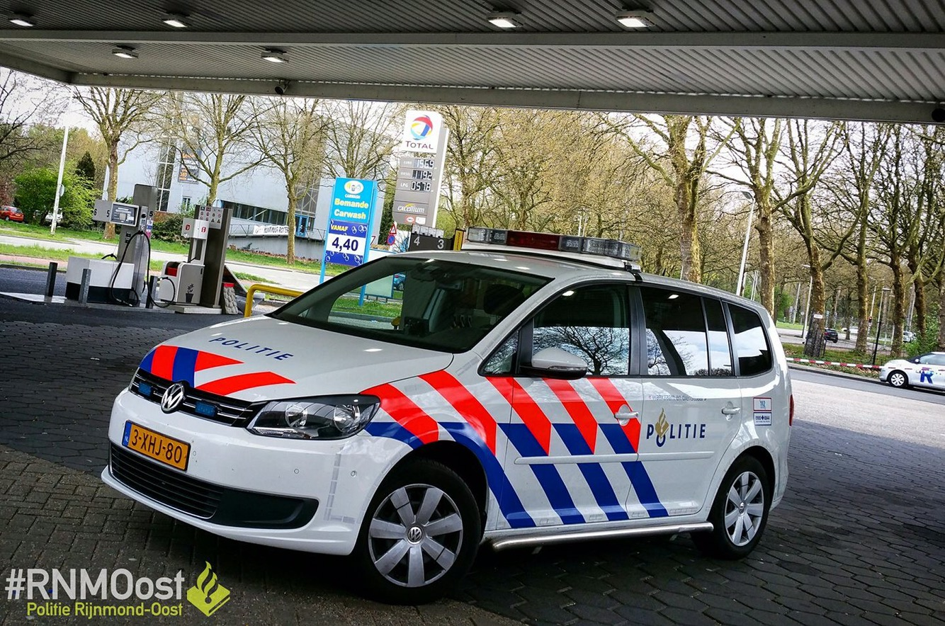 Tankstation overvallen aan de Prinsenlaan in Rotterdam