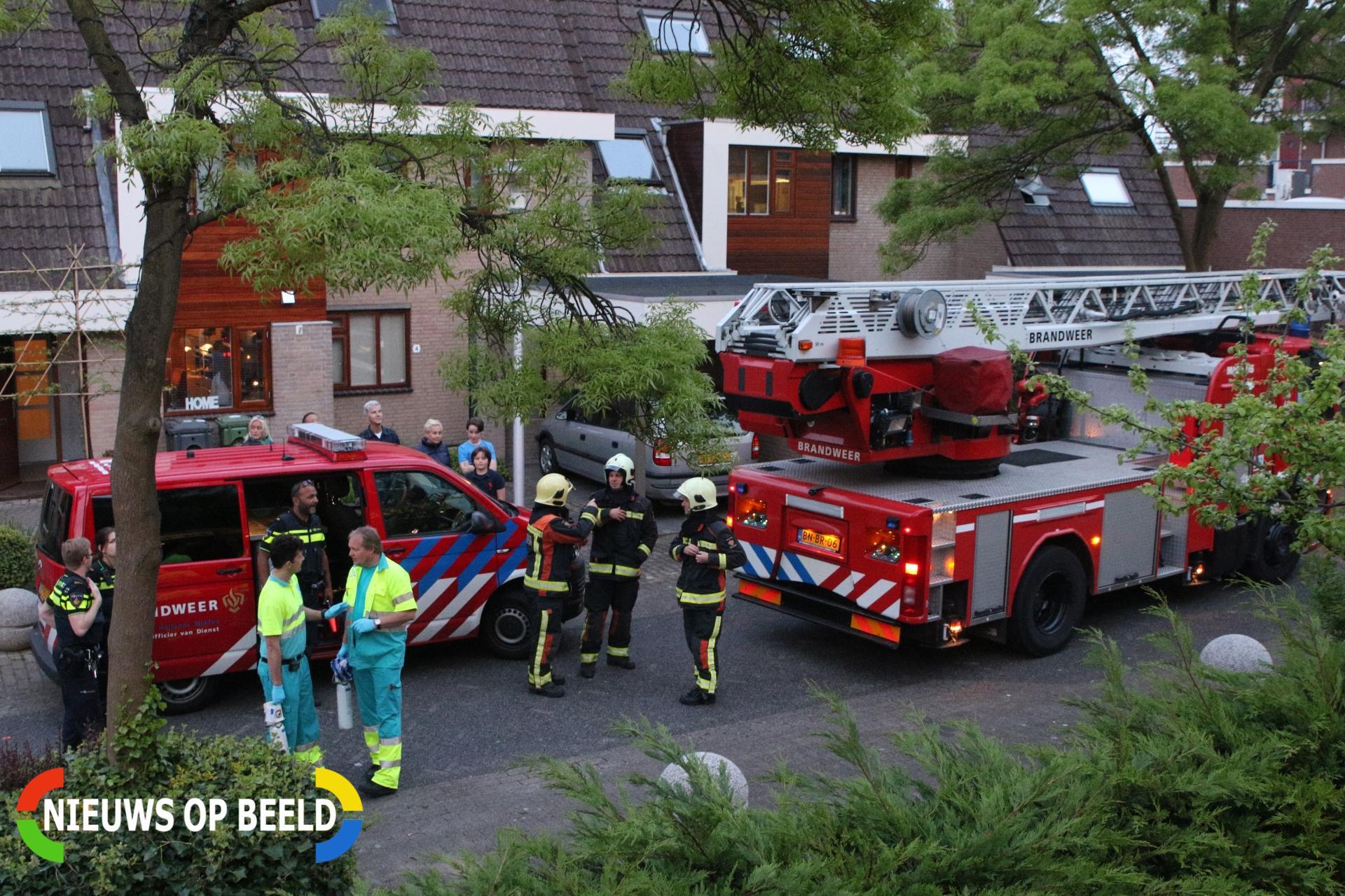 Wasdroger zorgt voor brand in appartement Obool Leiderdorp