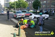 Persoon gewond na aanrijding Crooswijksestraat Rotterdam