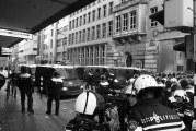 Beelden ongeregeldheden binnenstad Rotterdam openbaar Rotterdam