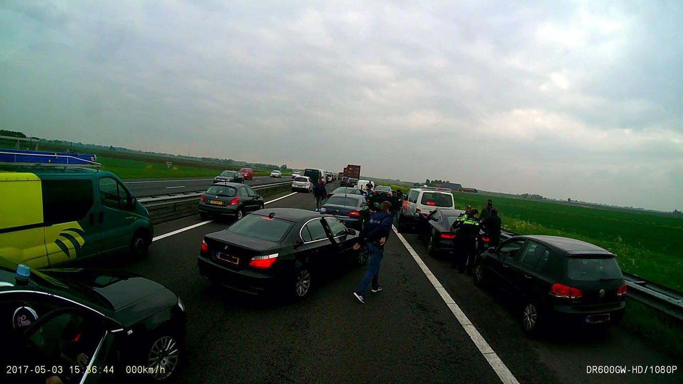 Autodief snel gepakt op A29 bij Numansdorp