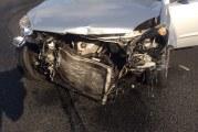 Ravage op snelweg na kettingbotsing A15 Rotterdam