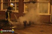 Scootmobiel uitgebrand door kortsluiting Monstersestraat Den Haag