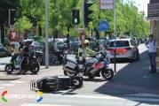 Scooterrijder ten val na aanrijding op kruising Terletstraat Den Haag