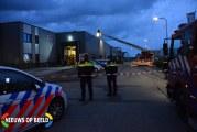 Brand in oven van stroopwafelfabriek Transportstraat Bergambacht