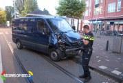Bestuurder bestelbus aangehouden na botsing met boom Steijnlaan Den Haag
