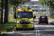 Aanrijding tussen scooter en personenauto Veld en Beemd Bergschenhoek