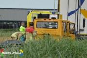 Flinke schade na botsing op vrachtwagen Provincialeweg – N471 Berkel en Rodenrijs