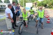 290 scholieren fietsen voor Veilig Verkeer Nederland fietsverkeersexamen Nachtegaalstraat Krimpen aan den IJssel