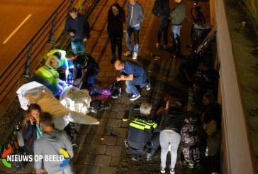 Twee gewonden na val met brommer Oudelandselaan Berkel en Rodenrijs