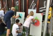 Kindergemeenteraad Krimpen aan den IJssel opent graffitimuur