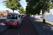 Politie lost waarschuwingsschot bij aanhouding carjackers Maasboulevard Rotterdam
