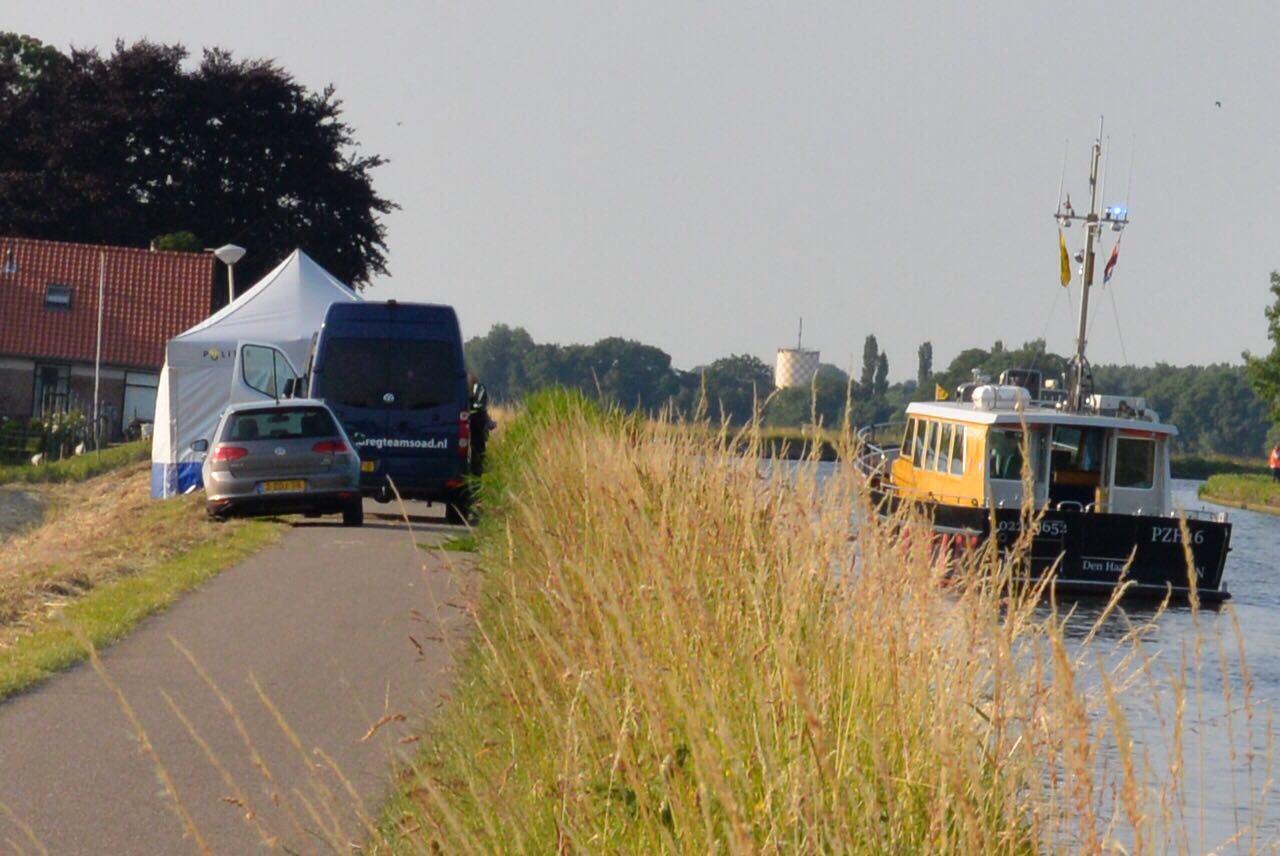 Politie vindt lichaam in Gouwe bij Boskoop