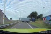 Vrachtwagenchauffeur rijdt roekeloos spook A15 Rozenburg
