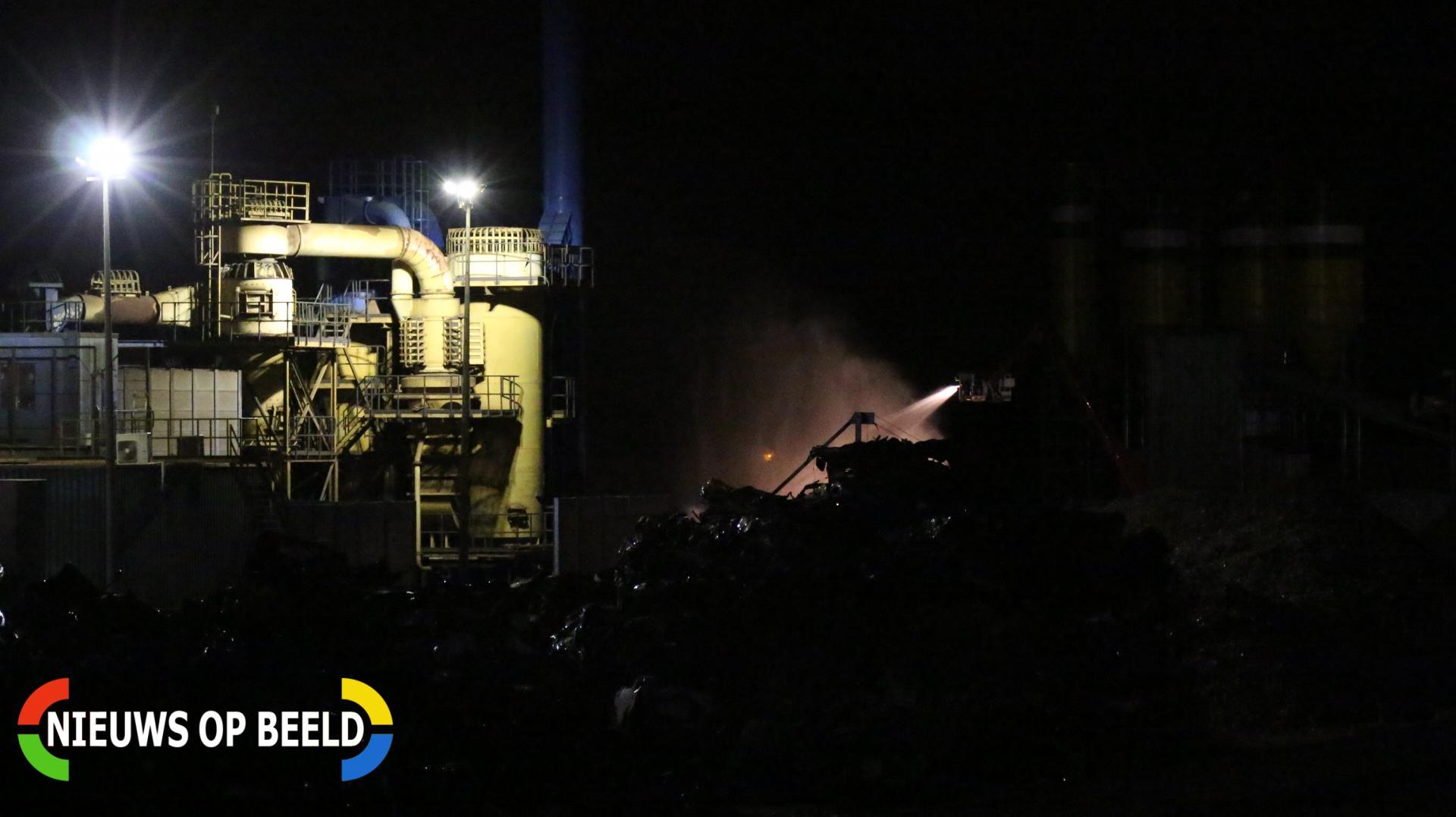 Stankoverlast in Born door brand recyclingbedrijf Halve Maanweg Born