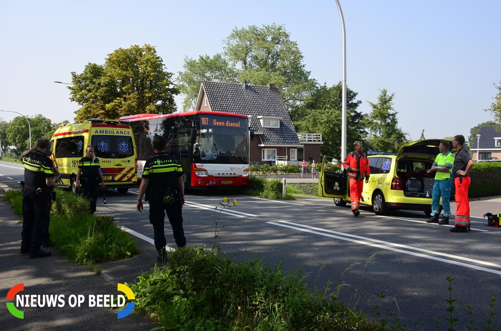 Fietser aangereden door lijnbus Provincialeweg Oost – N228 Haastrecht