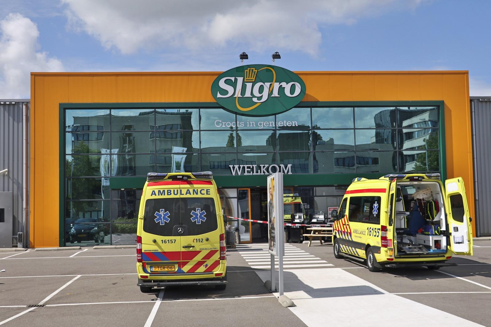 Twee personeelsleden Sligro Gouda aangehouden voor betrokkenheid dood winkeldief