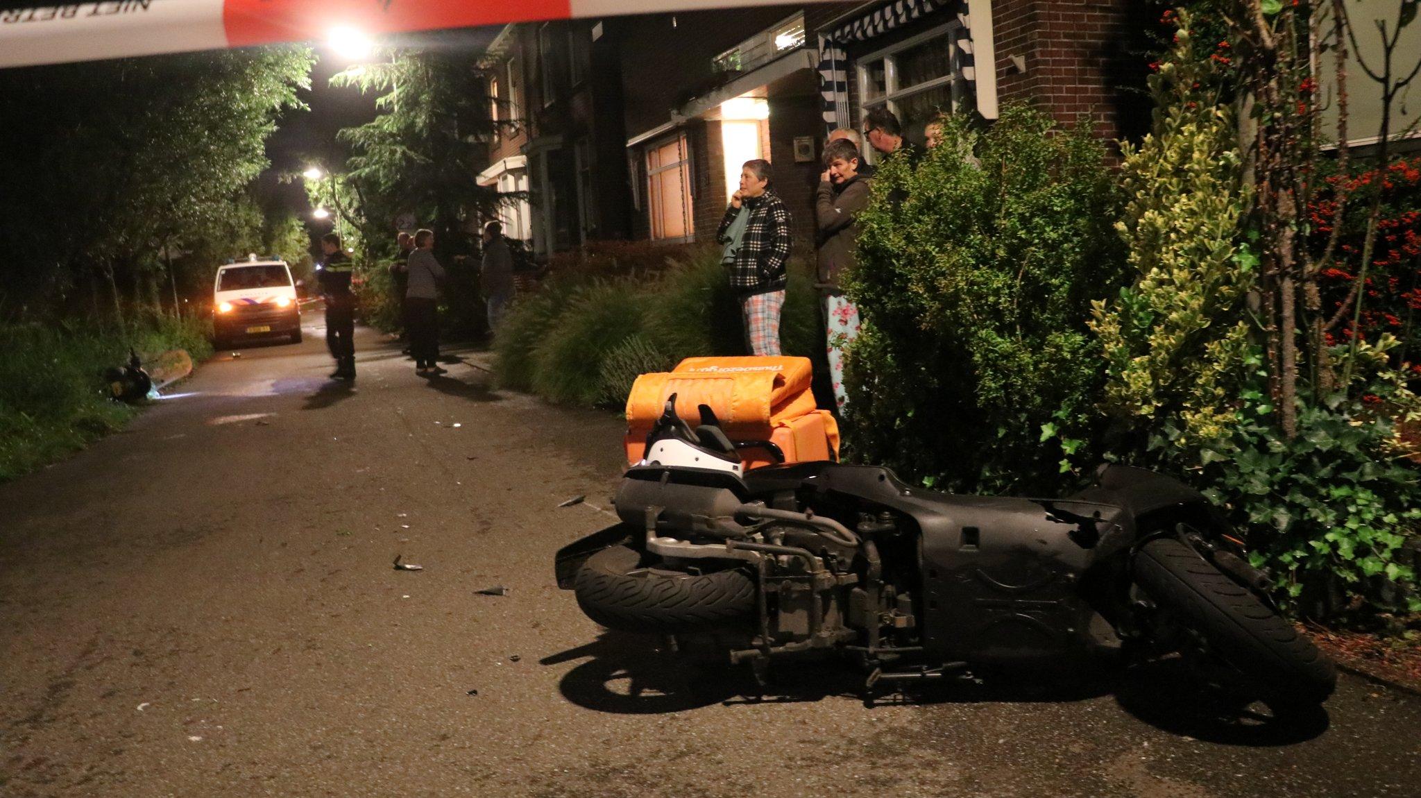 Gewonde na ongeval tussen scooters Voorwillenseweg Gouda