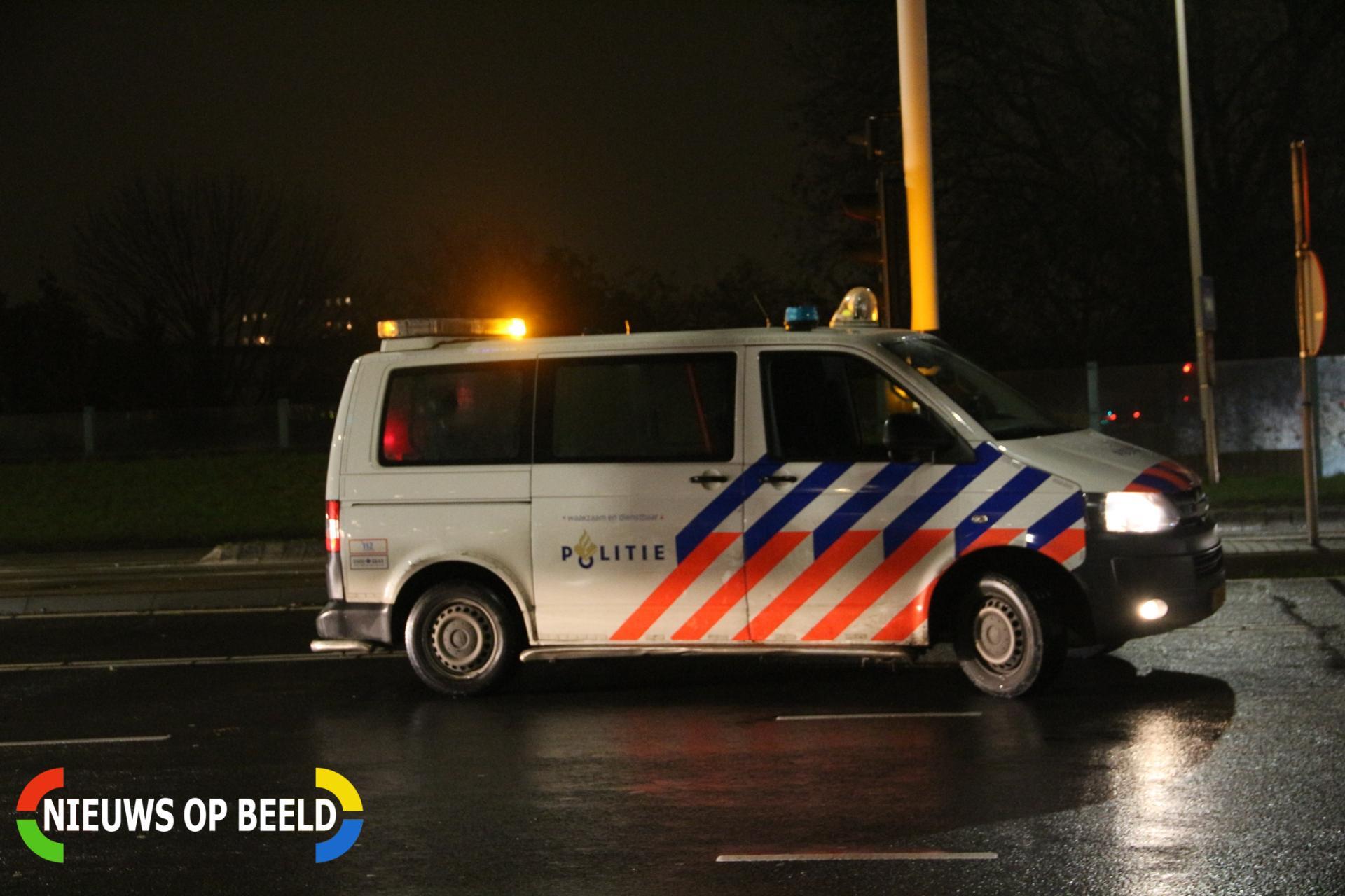 Vier inbrekers heterdaad aangehouden Rotterdam Kralingeseveer