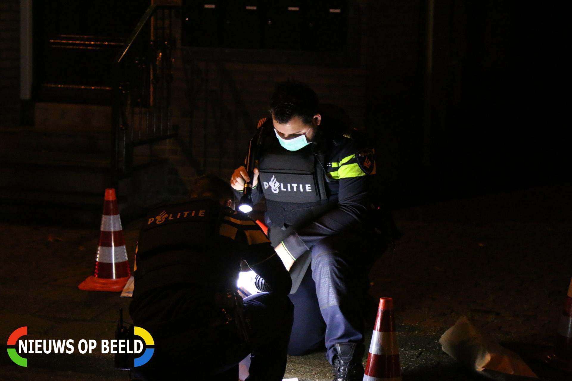 Meerdere schoten gelost op straat Brandstraat Einighausen