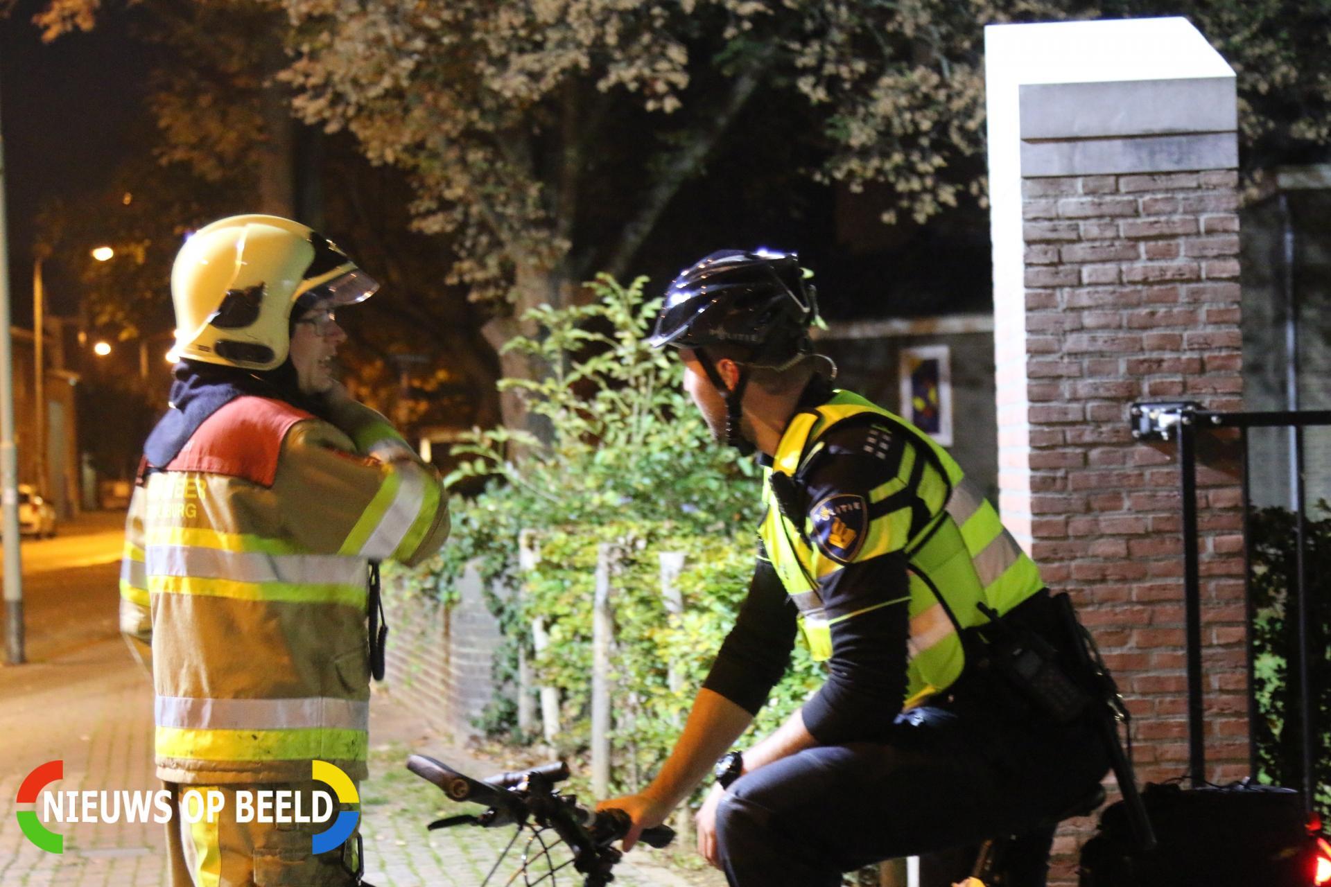 Buitenbrand tegen klooster aangestoken Walramstraat Sittard