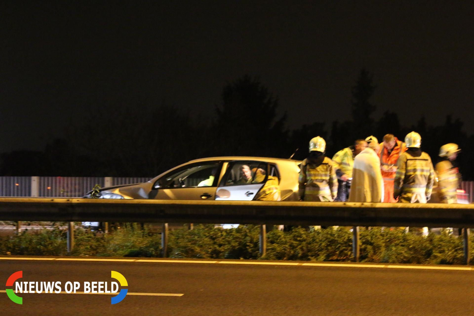 Gewonden na ongeval op snelweg A2 Geleen