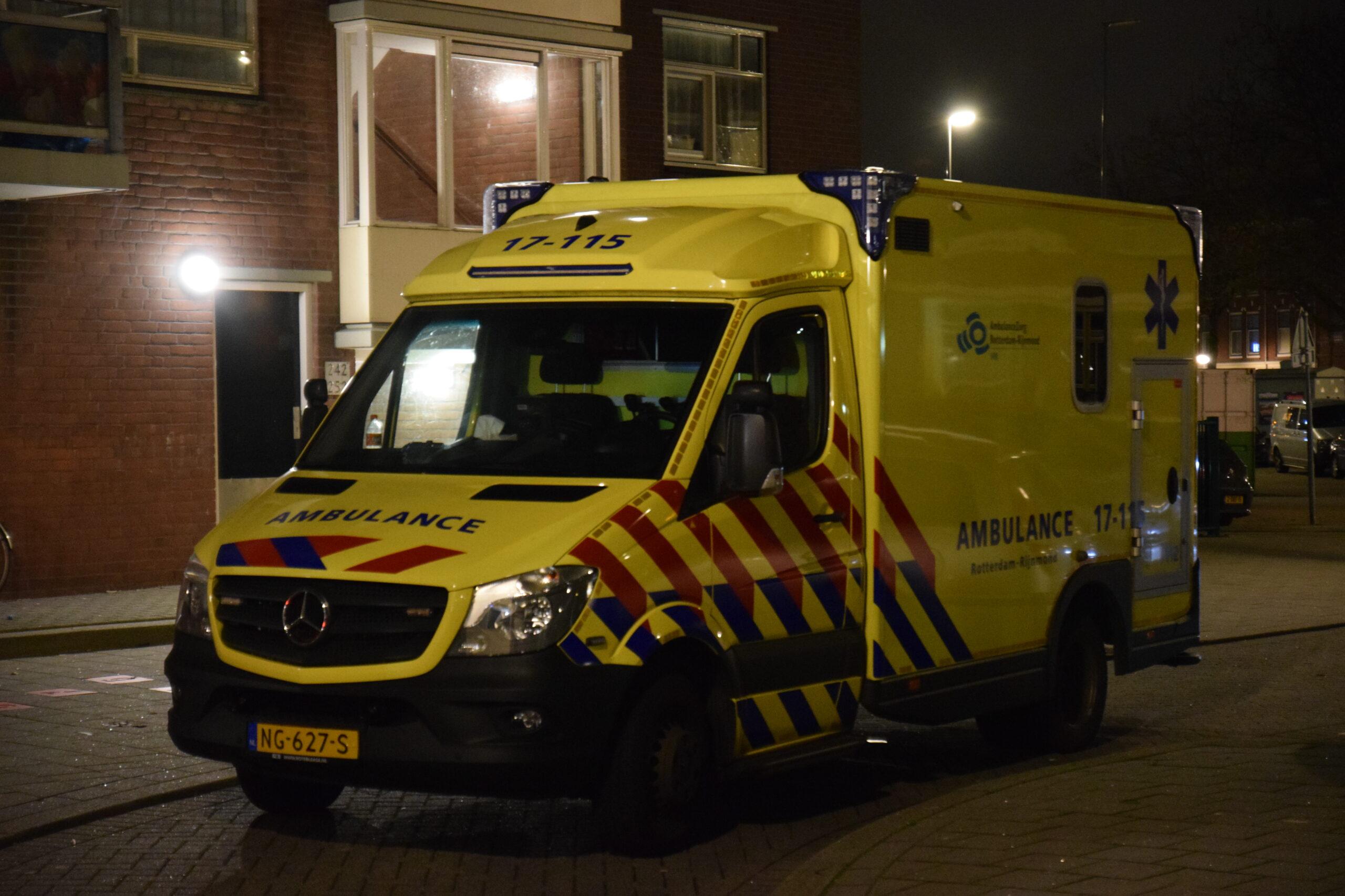 Vrouw gewond na steekpartij Damstraat Rotterdam