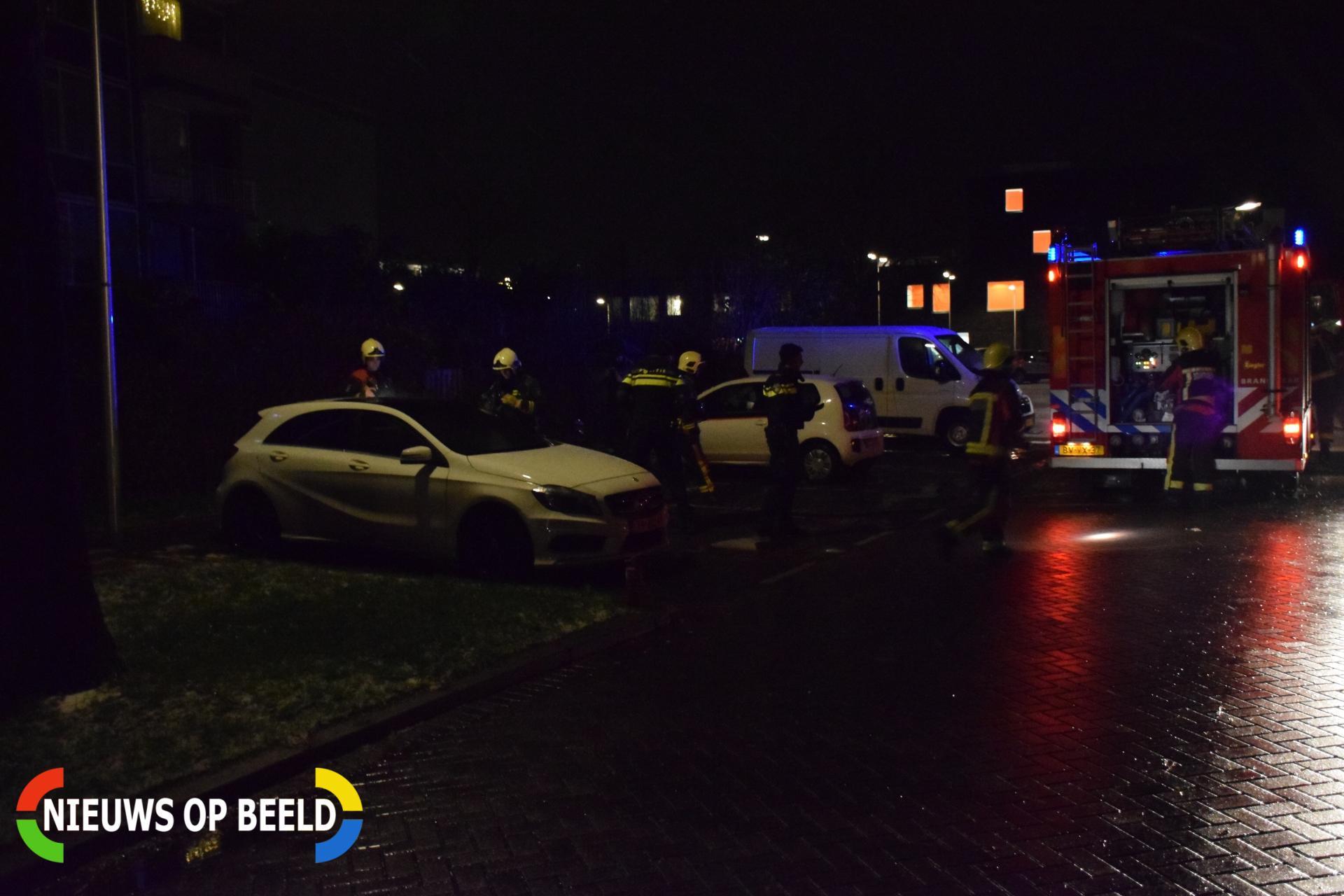Kranten in brand veroorzaakt melding autobrand Bernadottelaan Gouda