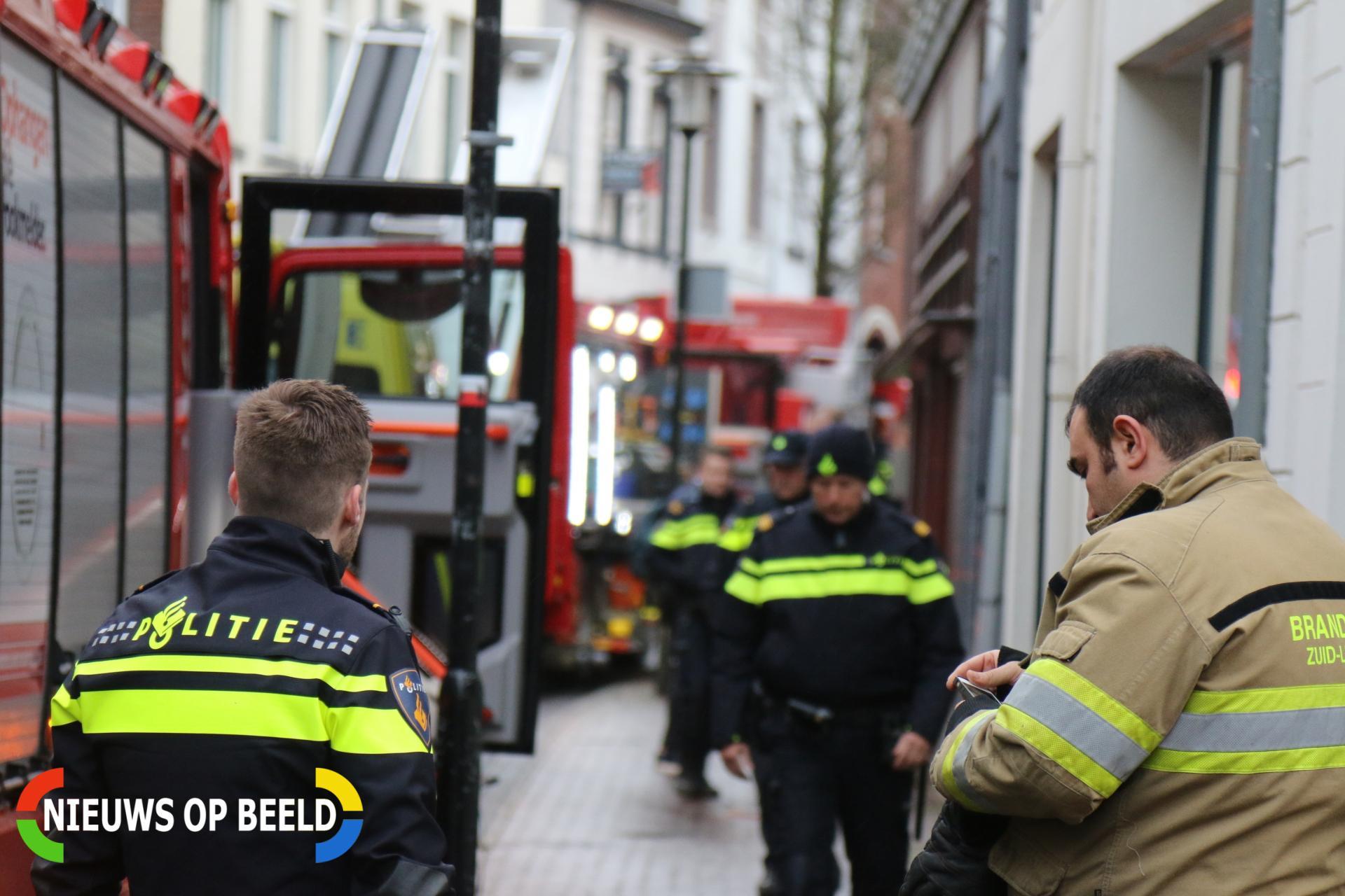 Flinke brand in woning Putstraat Sittard