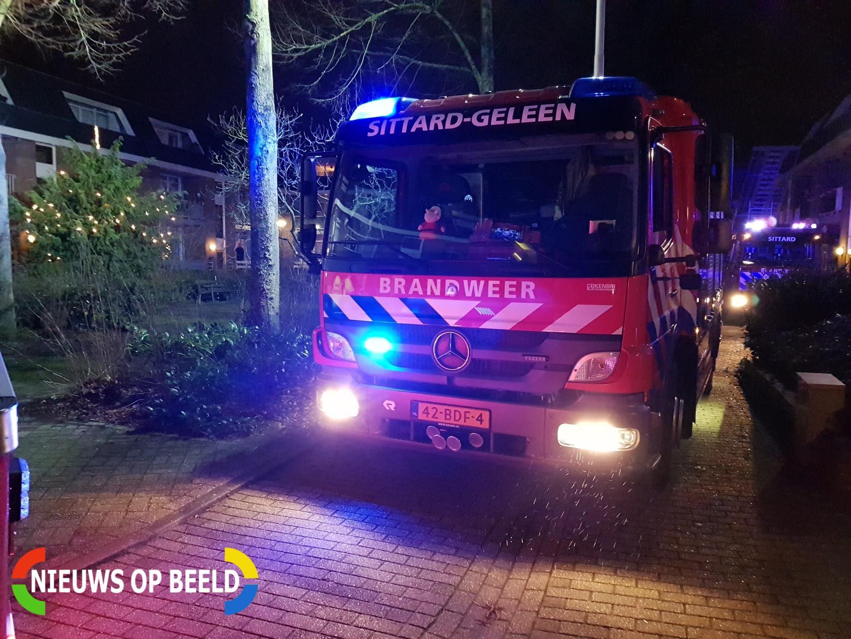 Pannetje op vuur zorgt voor rookontwikkeling in woning Lindenhof Sittard