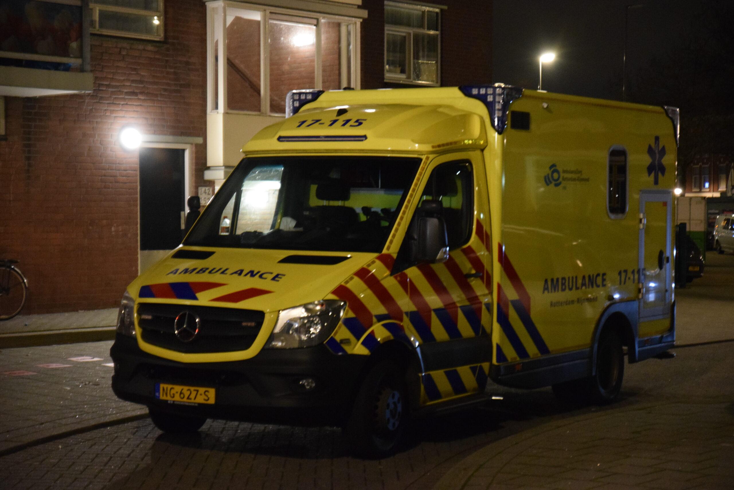 Gewonde bij ongeval A4 – A15 Rotterdam