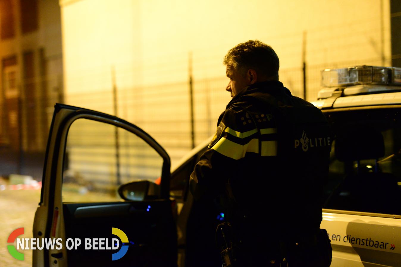 Man bedreigd vrouw met vuurwapen Oldegaarde Rotterdam