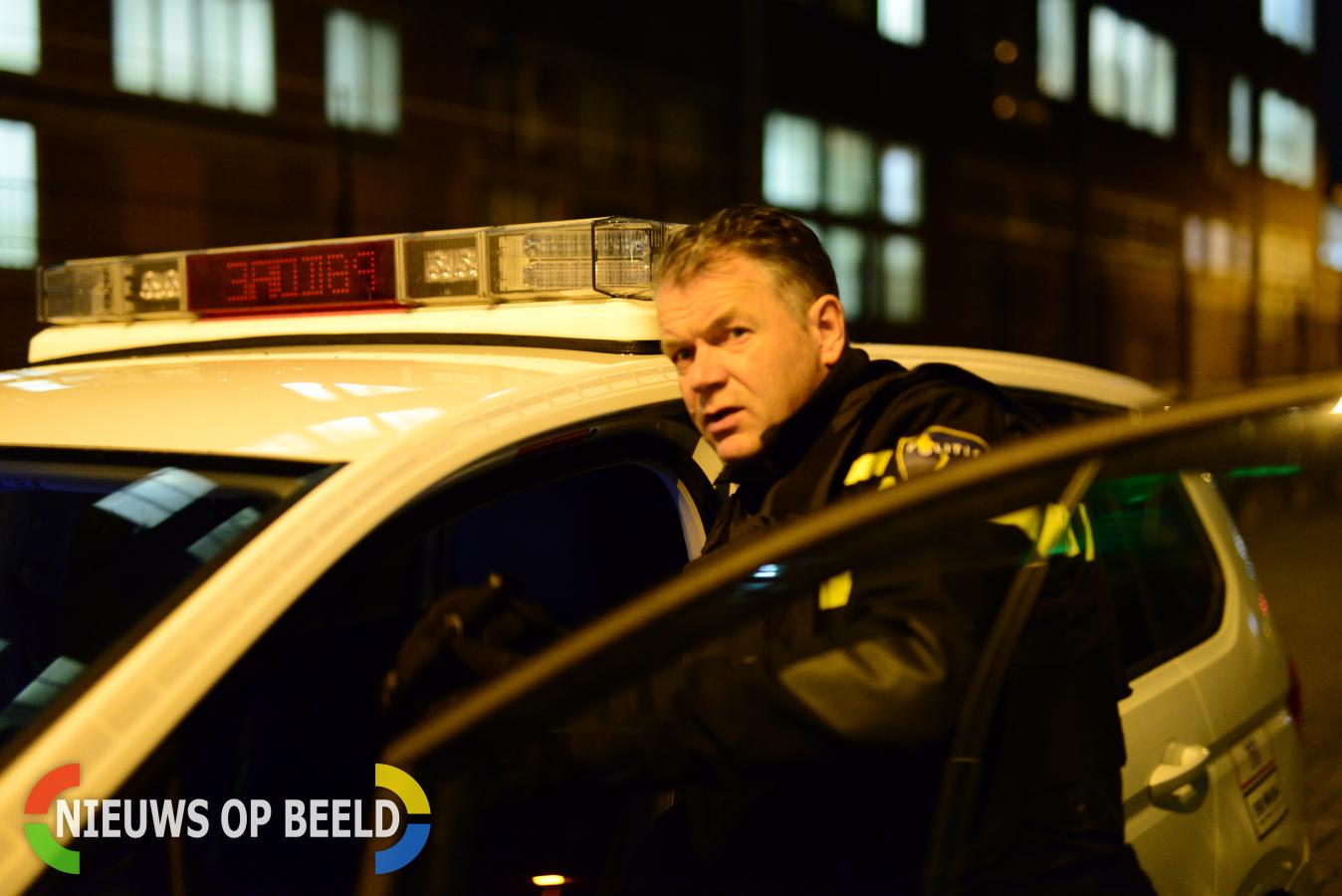 Politie houdt verdachte onder schot bij aanhouding Stevensstraat Moordrecht