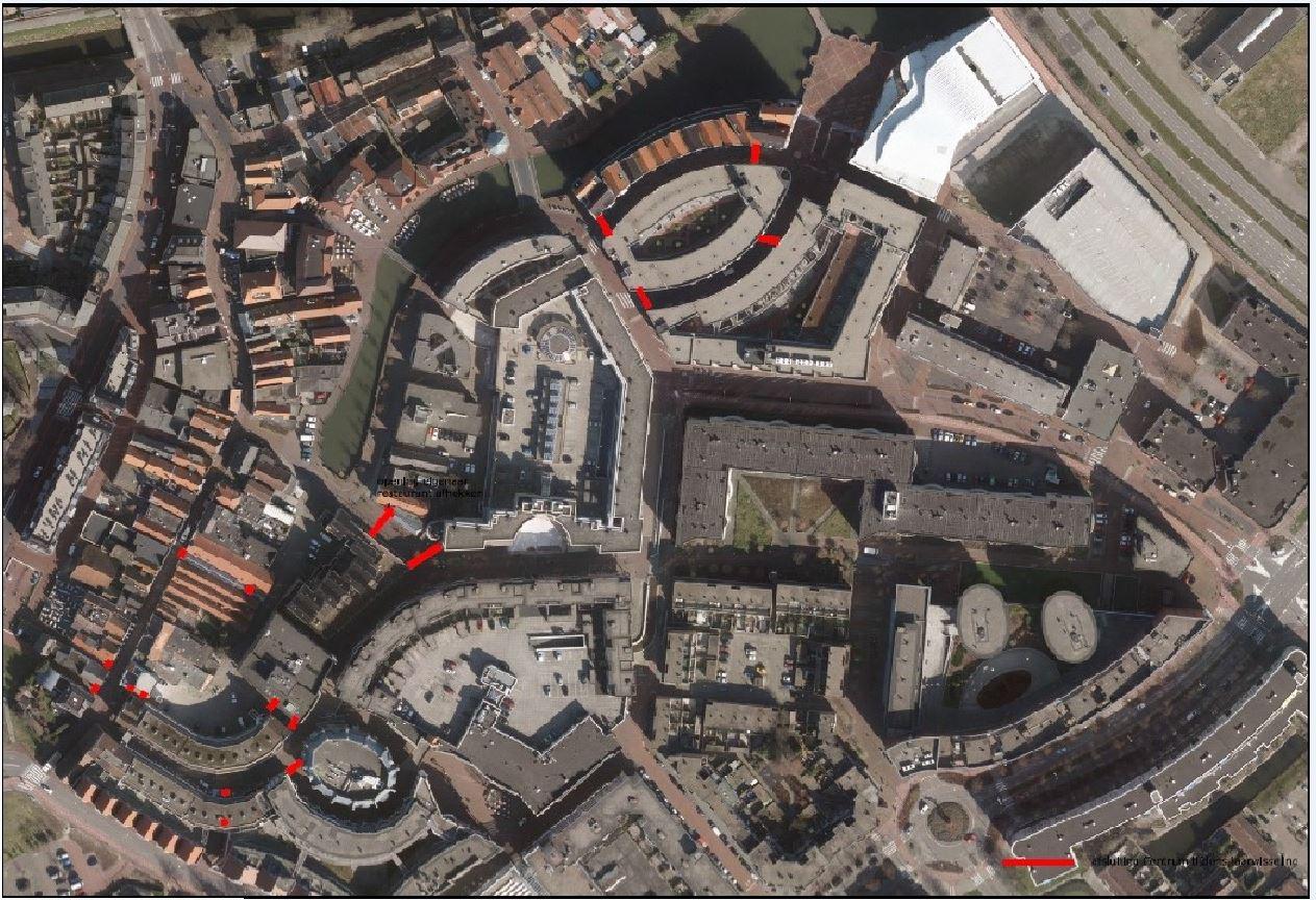 Gemeente Spijkenisse sluit steegjes en doorgangen in het centrum af tijdens oud en nieuw