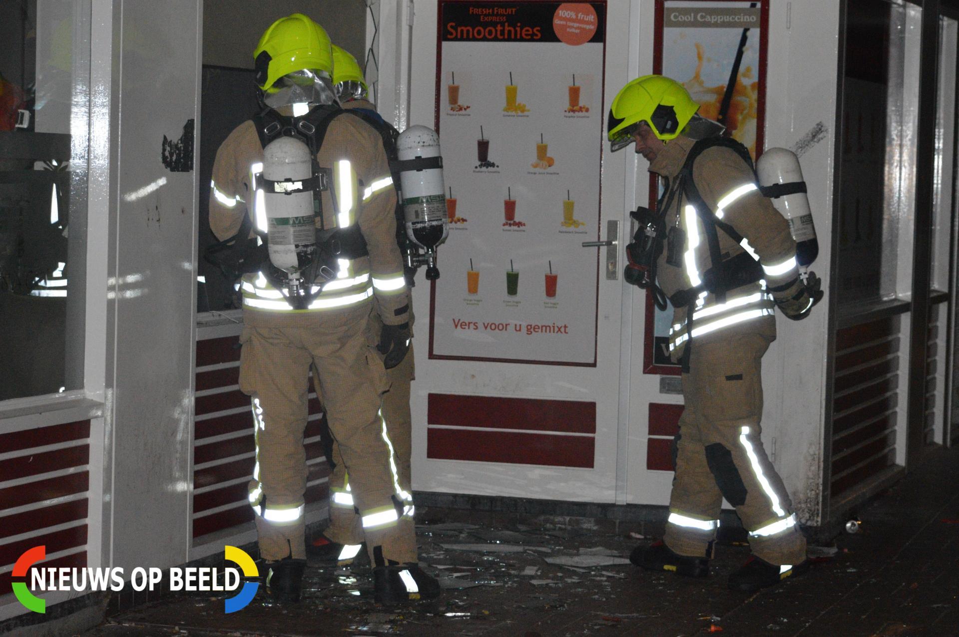 Vernieling met vuurwerk in eetcafe Esdoornlaan Berkel en Rodenrijs