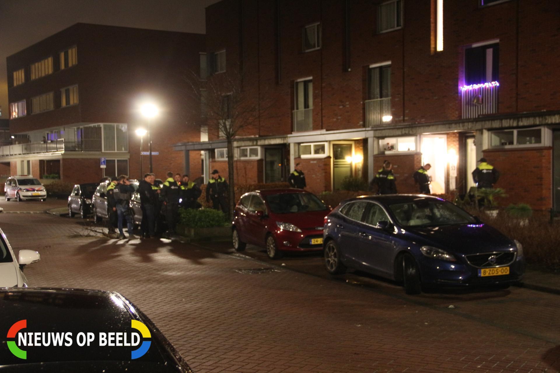 Schietpartij met gewonde Constantyn Huygensstraat Capelle aan den IJssel