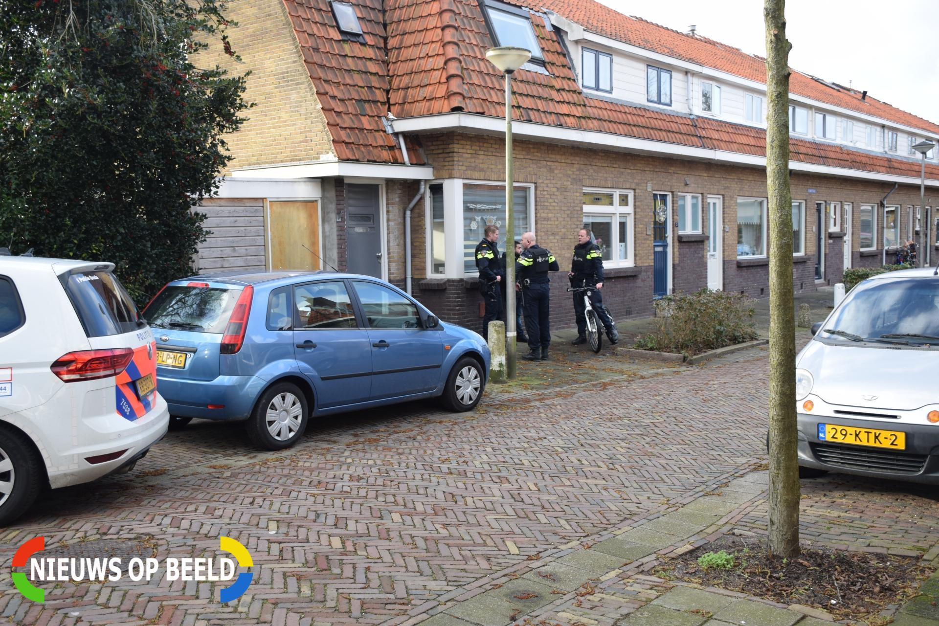 Overval op woonhuis Klimopstraat Gouda