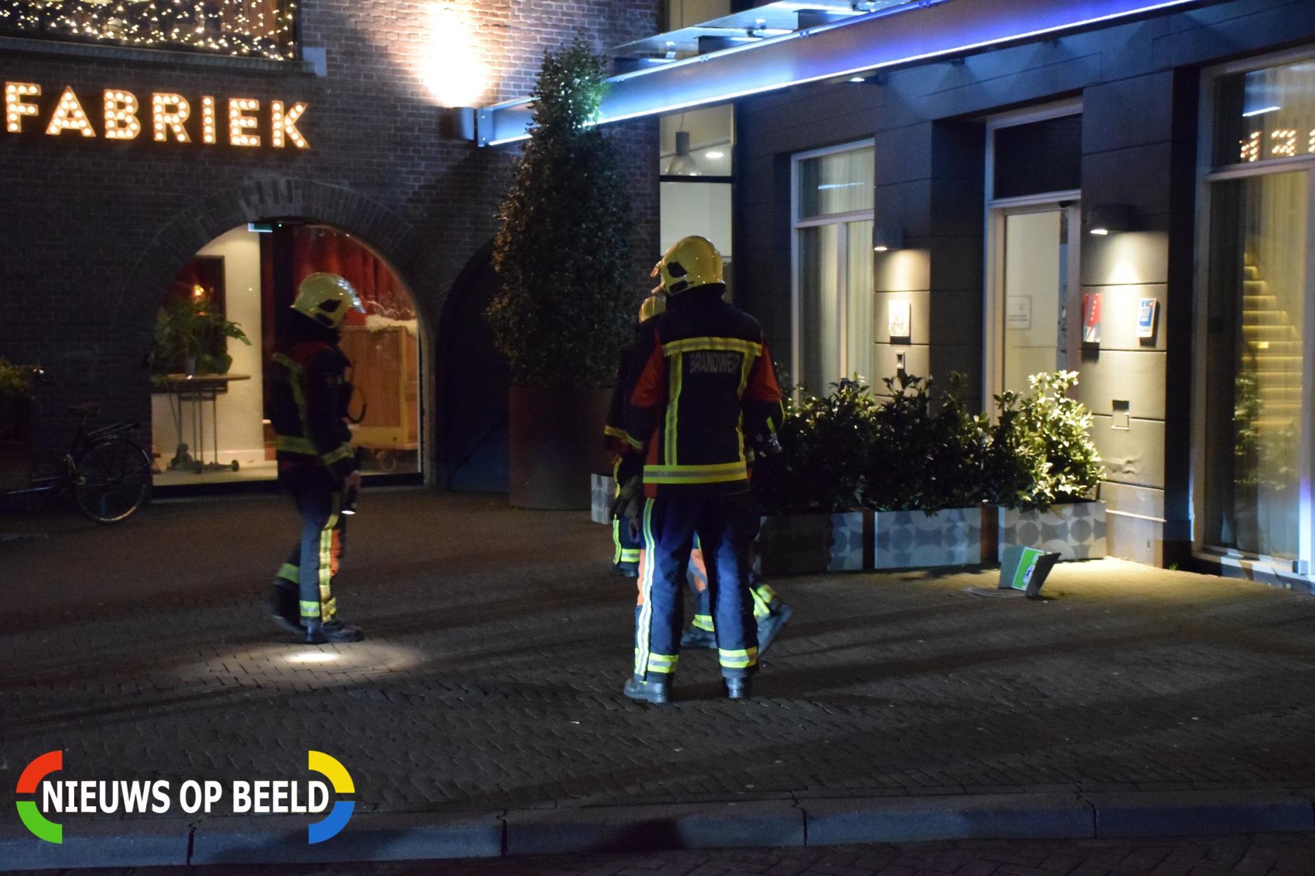City Hotel tijdelijk afgesloten na gaslek Hoge Gouwe Gouda