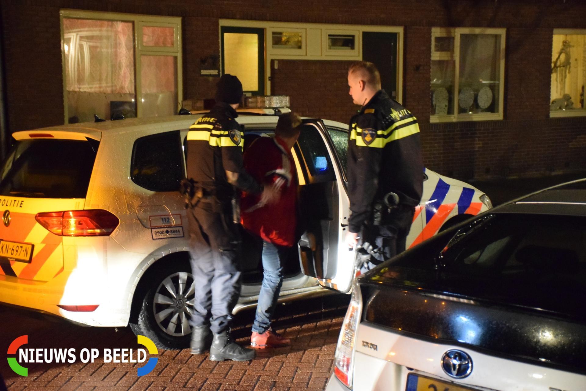 Man aangehouden na bedreiging hulpdiensten Julianastraat Boskoop