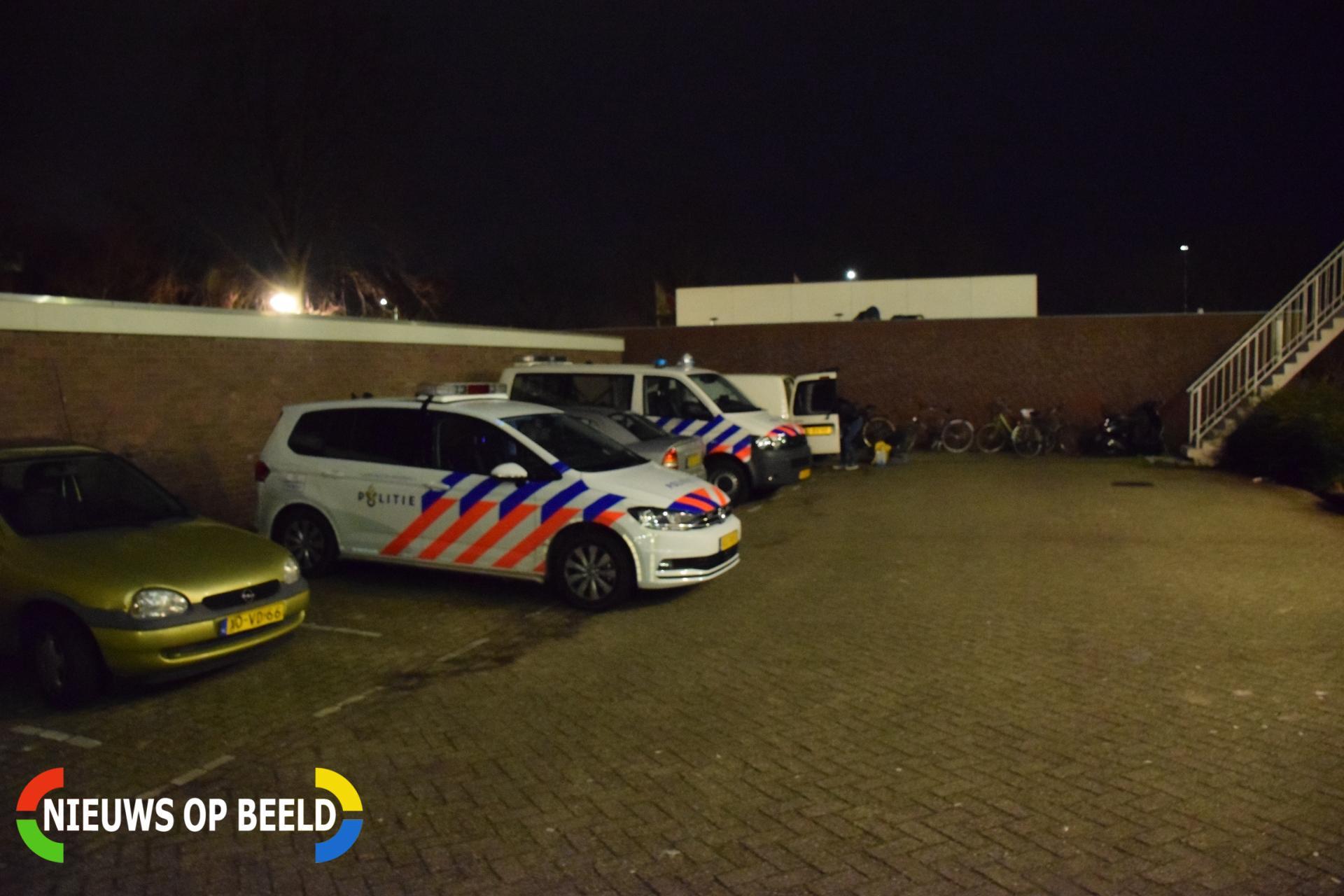 Overval op flatwoning Dirk Bavolaan Bodegraven